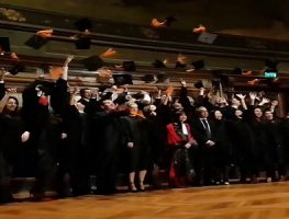 Cérémonie de remise des diplômes à la Sorbonne