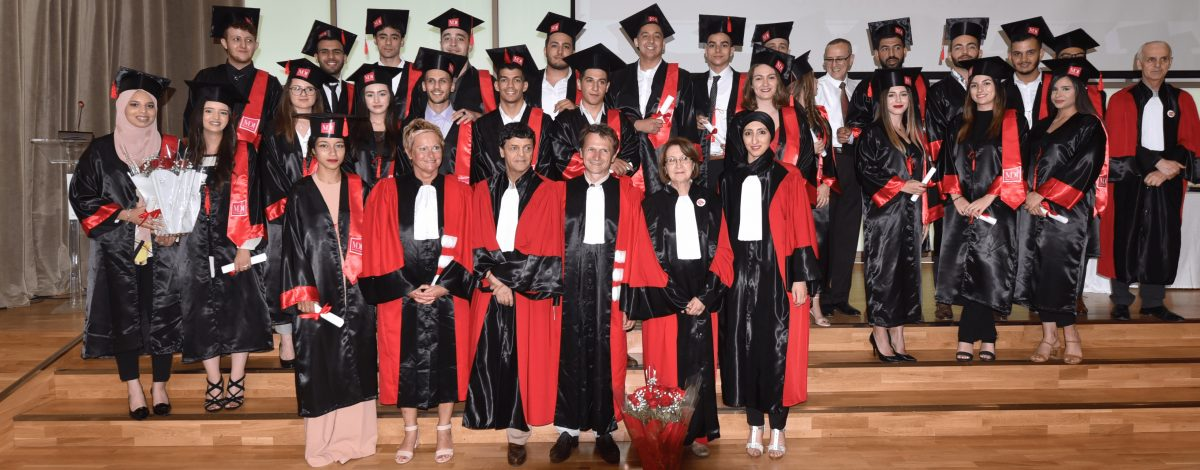 cérémonie de remise des diplômes Licence
