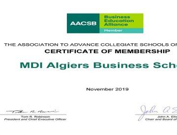 MDI désormais membre de l'AACSB