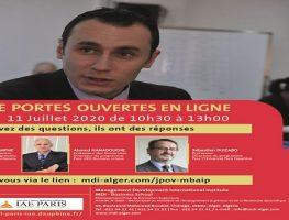 EXECUTIVE MBA JOURNÉES PORTES OUVERTES