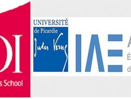 Bravo à nos étudiants admis à l'IAE d'Amiens