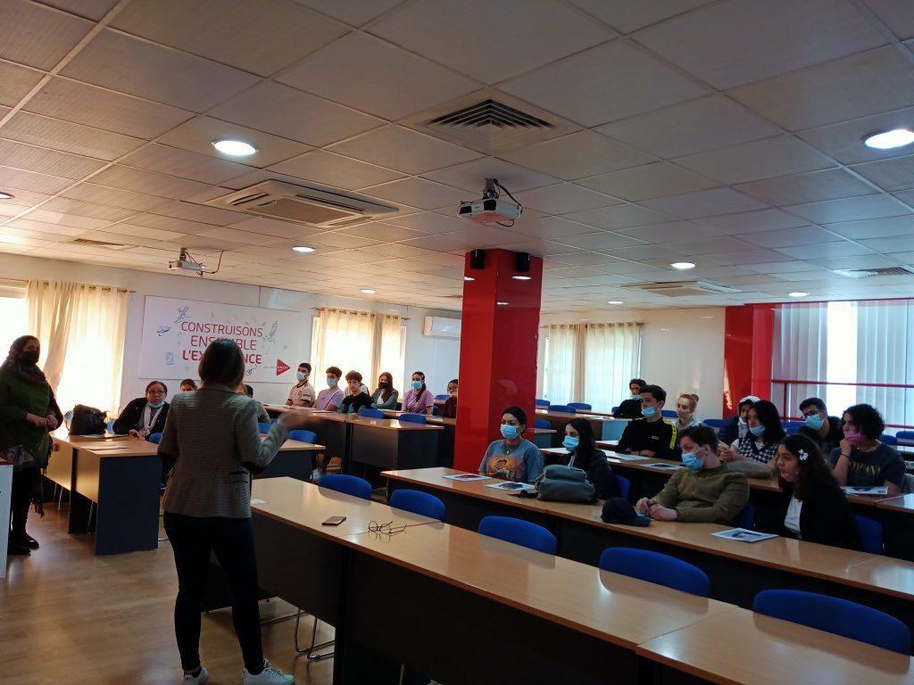 Rencontre MDI Business School et établissement EL MALAK