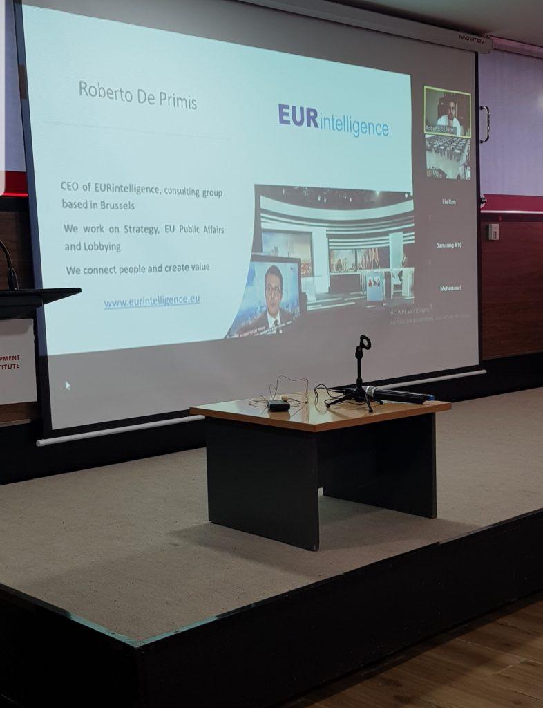 Conference Roberto DE PRIMIS